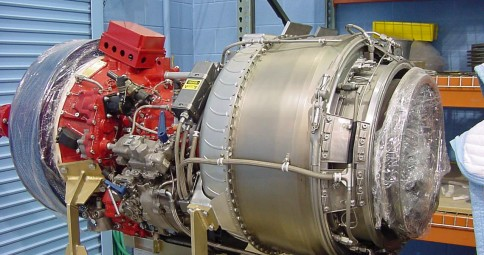 Lycoming™ T-53, 1350 hp coupled to the ASD8 Drive Units.