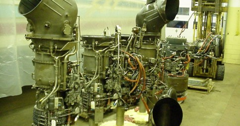 General Electric™ T-58, 1325 hp coupled to the ASD8 Drive Units